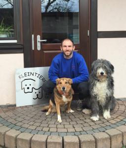 Jonas mit Hunden